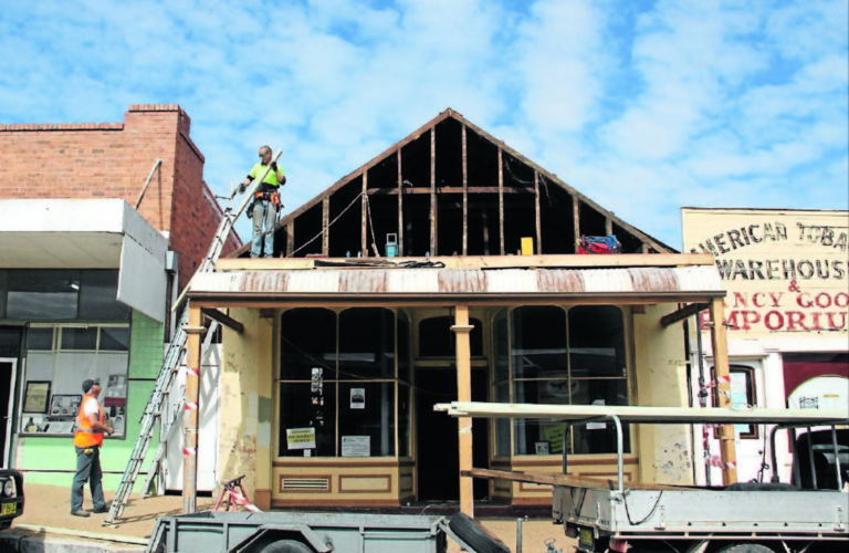 Museum work begins: Gulgong landmark to be transformed