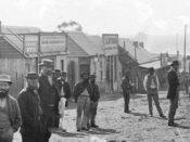 Herbert Street Gulgong 1872 HoltermannCollection