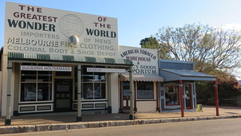 State Two State Heritage listed buildings Mayne Street Gulgong